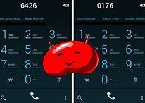 How to activate dial pad autocomplete on Android 4.3