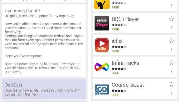 Cast Store: Alle verfügbaren Chromecast-Apps auf einen Blick