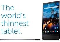 Das dünnste Tablet der Welt mit Wow-Faktor kommt von Dell