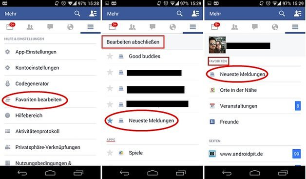 facebook newsfeed 2