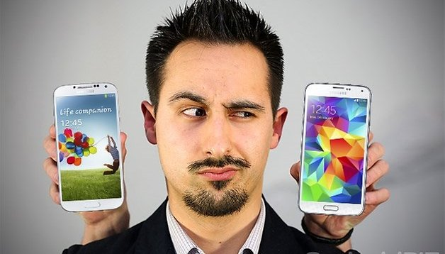 Galaxy S5: Ein Schritt vor, zwei Schritte zurück