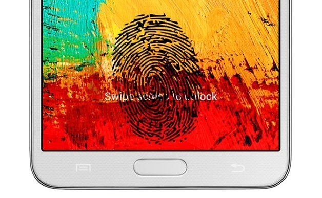 galaxy note 3 fingerprint
