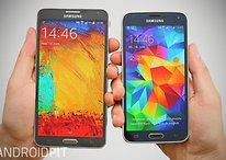 Galaxy S5 vs. Note 3: Der Teufel steckt im Stift