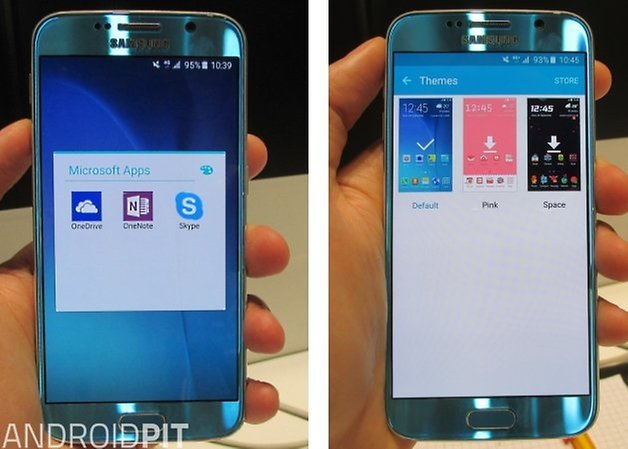 galaxy s6 themes microsoft apps
