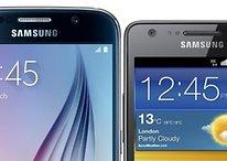 Galaxy S6 vs. Galaxy S2: Lohnt sich das Upgrade?
