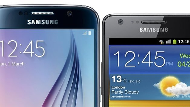 galaxy s6 vs galaxy s2