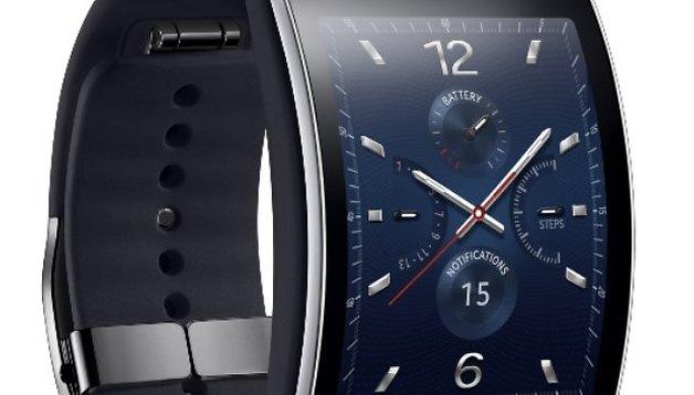 Samsung Gear S: Smartwatch mit gebogenem Display angekündigt
