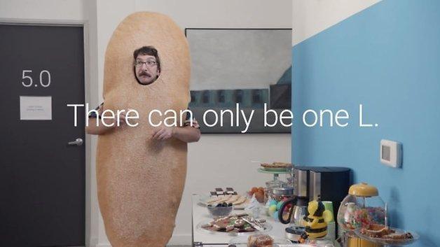 google android l teaser