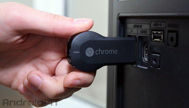 google chromecast anschluss tv