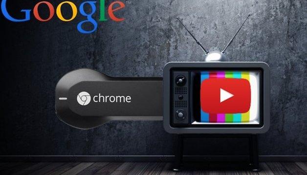 Wie kann ich Google Chromecast anstecken