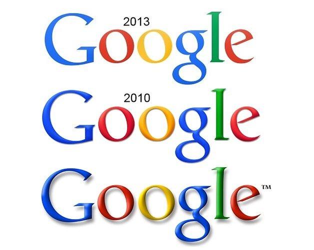 google logo comparison