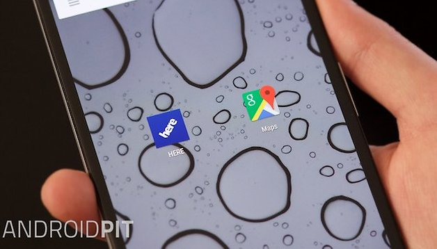 Google Maps vs  Nokia HERE: two great Android map apps