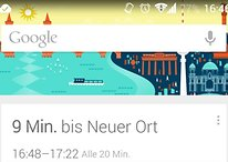 Google Now erlaubt nach Update Benennung von Orten