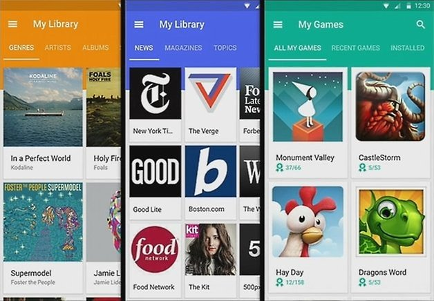 google play libraries