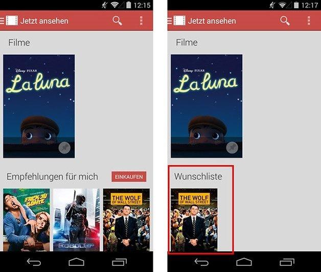 google play movies screen1