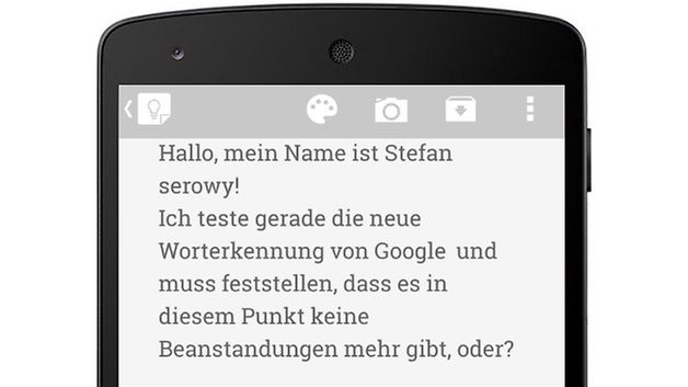 google sprache diktieren new