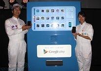 Google stellt erste Play-Store-Automaten in Tokio auf