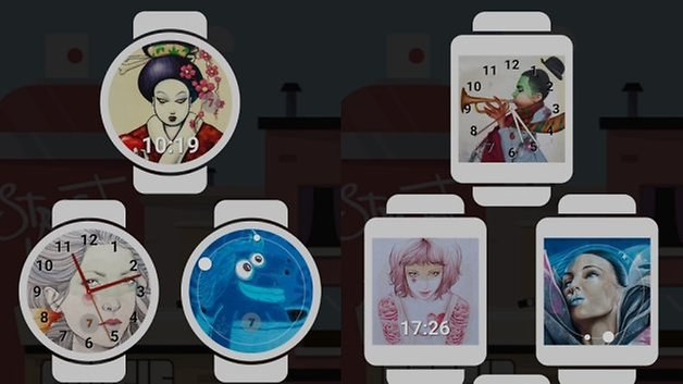 google watchfaces