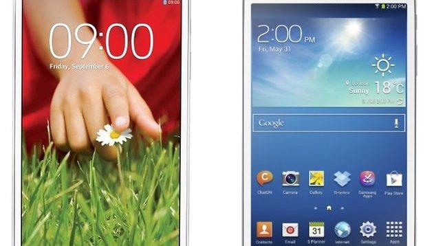LG G Pad 8.3 vs Galaxy Tab 3 8.0