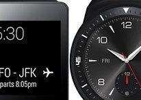 LG G Watch und G Watch R im Datenvergleich