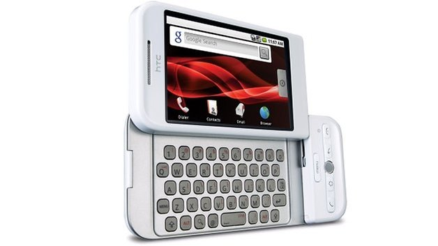 htc dream white