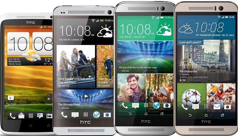 Smartphone-Evolution: Das ist die HTC-One-Serie