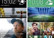 New HTC Sense screenshot appears, along with HTC One 2 mini