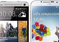 HTC One vs. Galaxy S4: Die Elite von 2013 im Vergleich