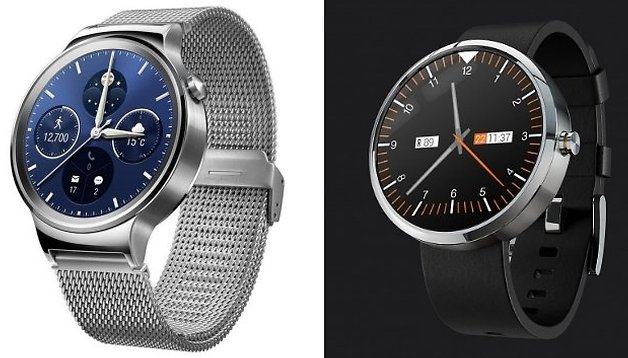 Huawei Watch vs. Motorola Moto 360