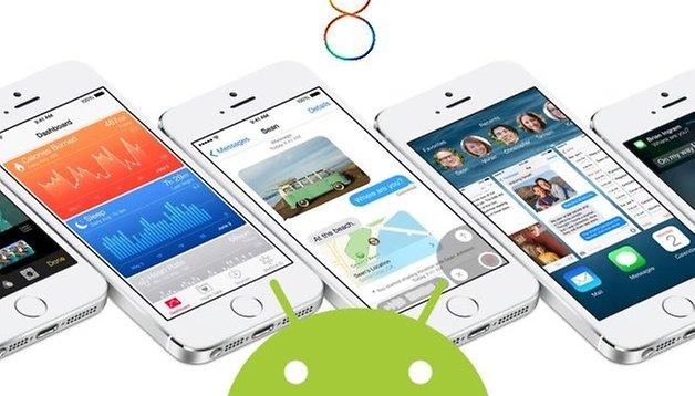 iOS 8: Gut geklaut ist halb gewonnen