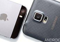 Apple vs. Samsung: Altes iPhone 5s schlägt neues Galaxy S5