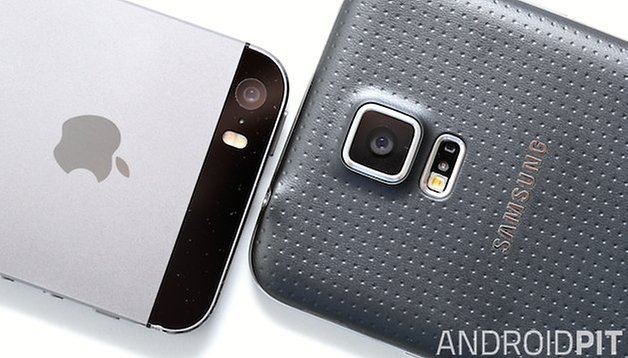 Apple vs. Samsung: Altes iPhone 5s schlägt neues Galaxy S5