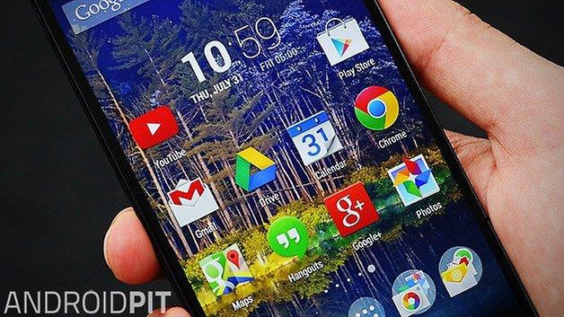 lg g2 homescreen google apps en teaser