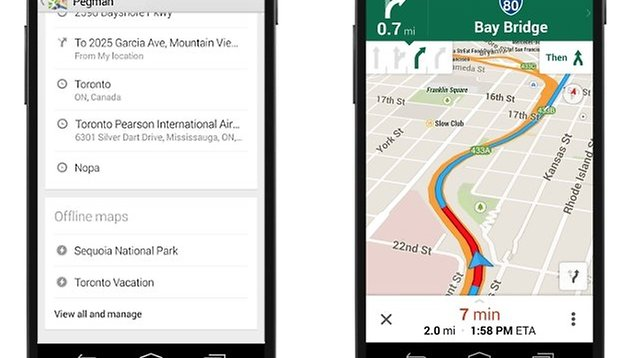 Google Maps update improves offline mode and much more