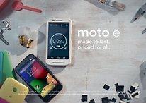 Moto E: Motorolas neues Budget-Phone offiziell vorgestellt [UPDATE]