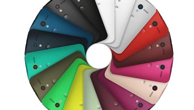 Moto X chega em duas novas cores
