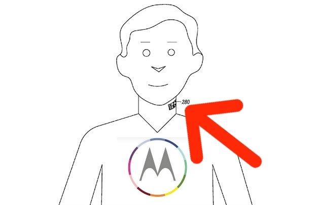motorla tattoo patent skin microphone 1