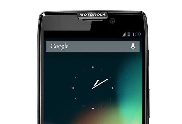 motorola android ausschnitt