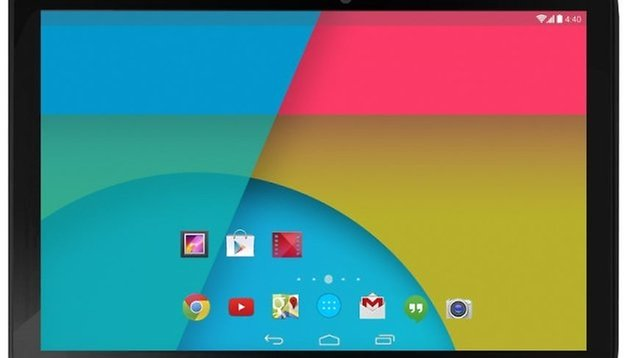 The new Nexus 10 briefly appears in Google Play at 4:40 *wink*