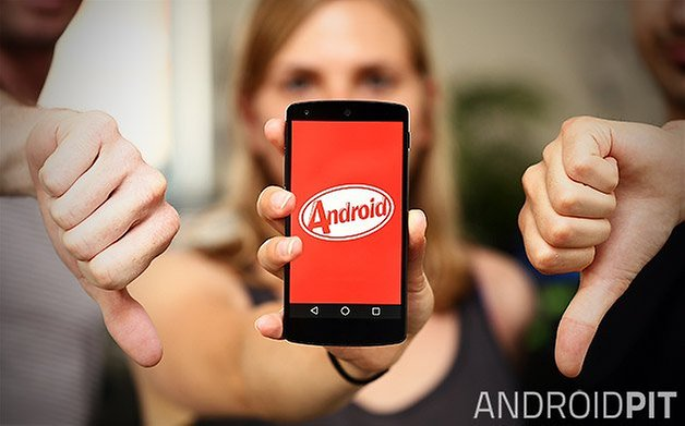 nexus 5 android daumen runter teaser