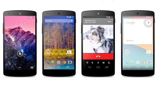 Nexus Phone evolution: Three years in three seconds