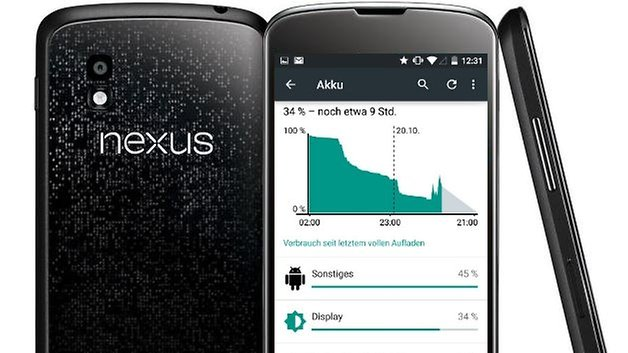 nexus4 androidl battery