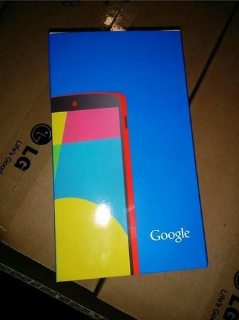 Red Nexus 5 Packaging