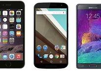 Google Nexus 6 vs iPhone 6 Plus: Android e Apple di nuovo sul ring