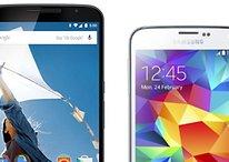 Nexus 6 vs. Galaxy S5: Vergleich der technischen Daten