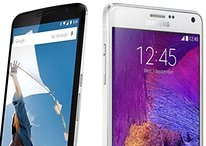 Nexus 6 vs Samsung Galaxy Note 4 - Comparación