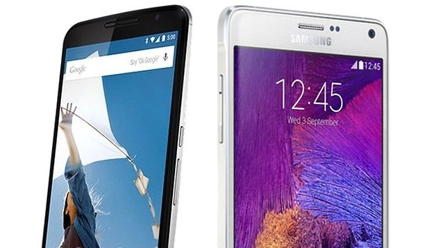 Nexus 6 vs. Galaxy Note 4: Vergleich der Performance-Elite