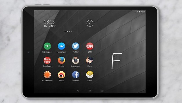 Baixe agora o launcher do tablet  com Android da Nokia