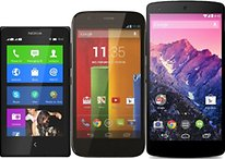 Three cheap smartphones: entry level to high-end