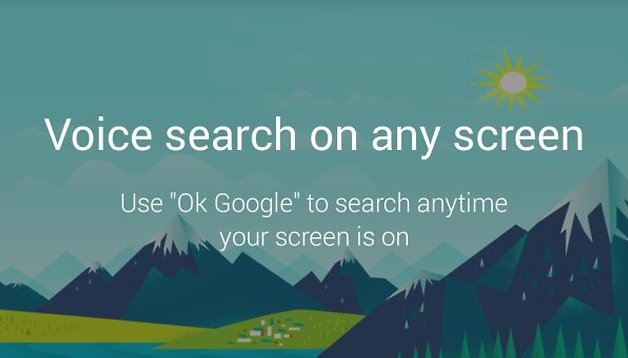 How to get ''Ok Google'' voice search on any screen